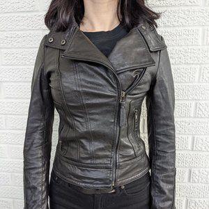 Mackage x Aritzia Kenya leather jacket XXS